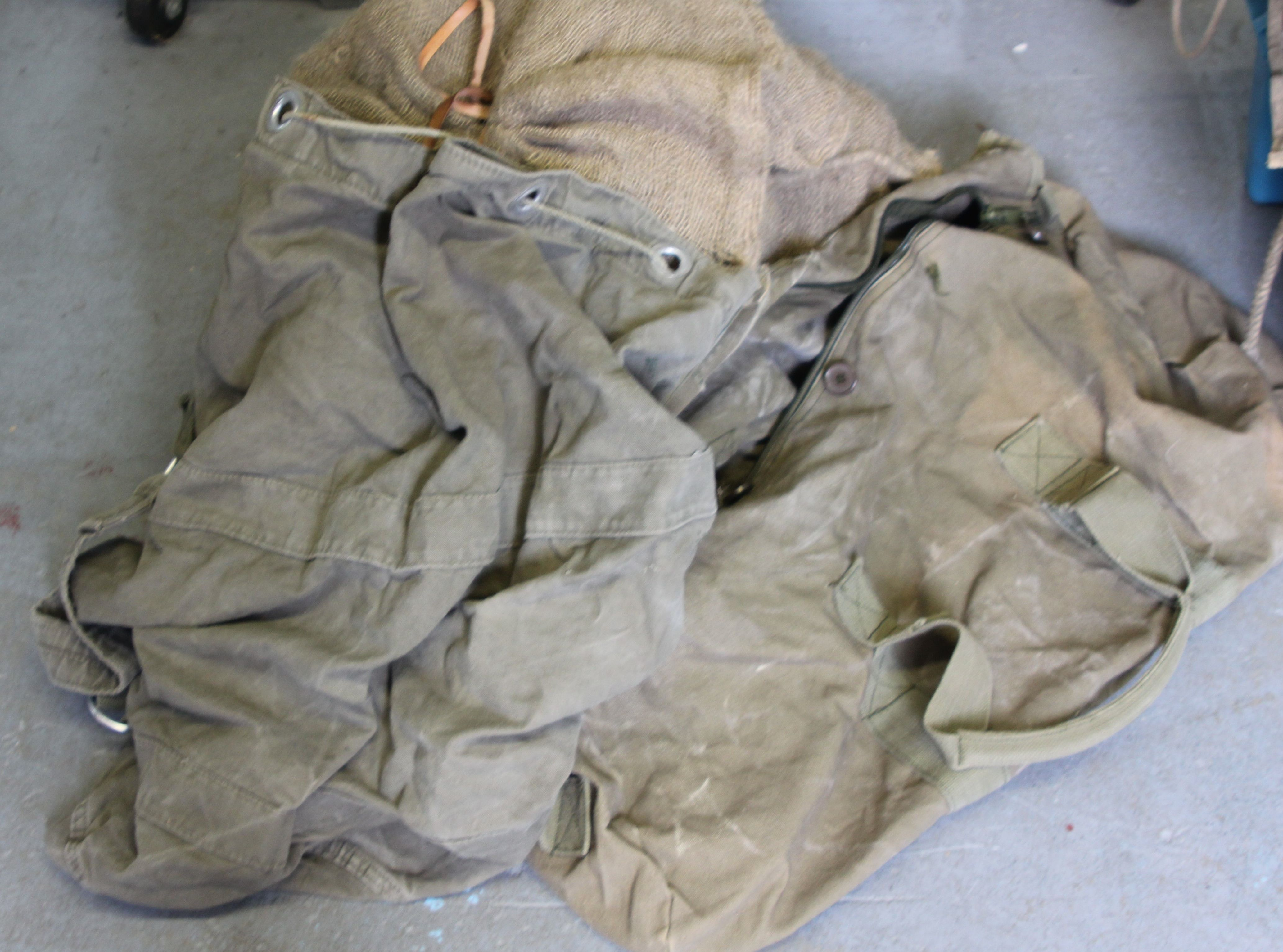 Various Army Bags
