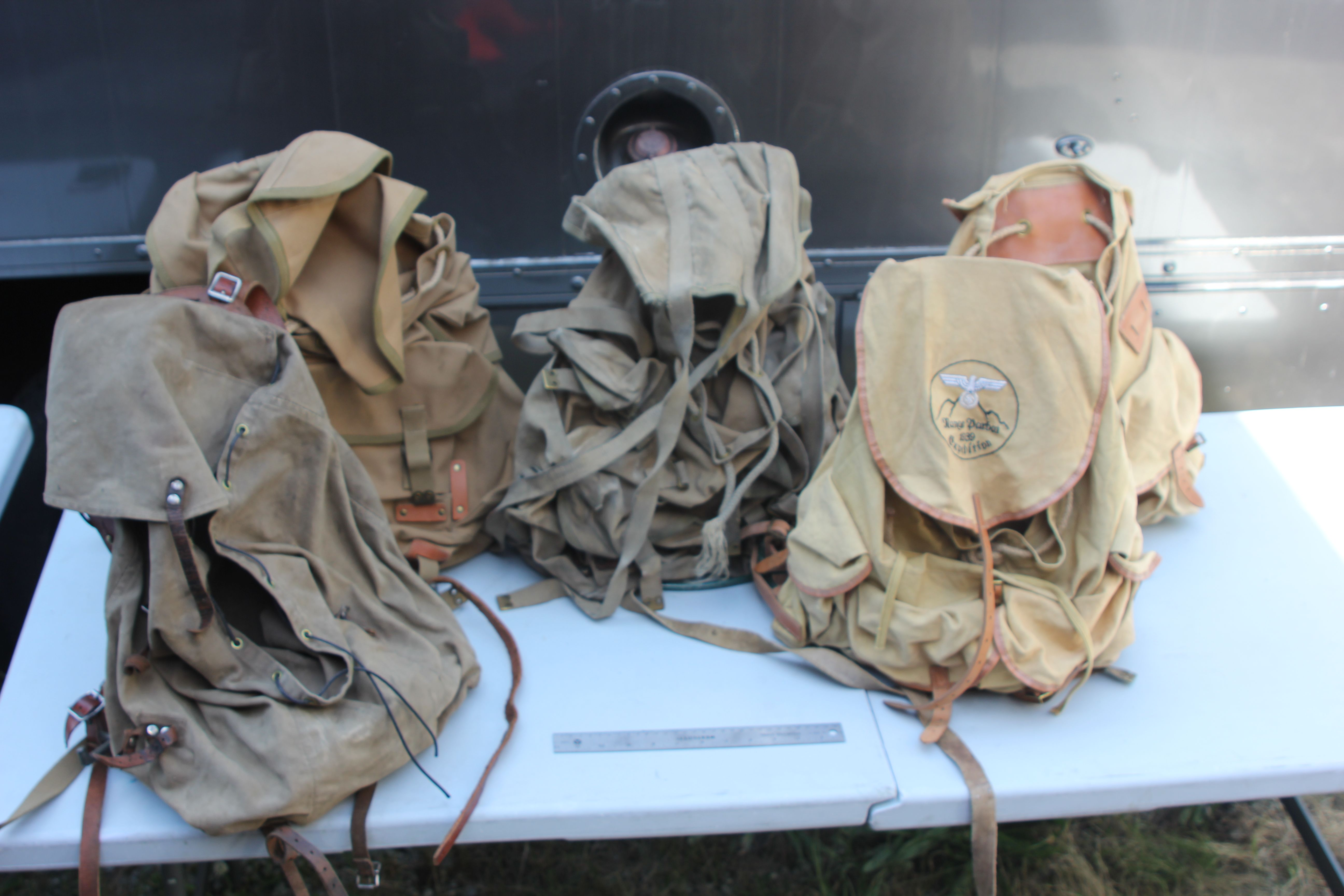 Period Army Back Packs