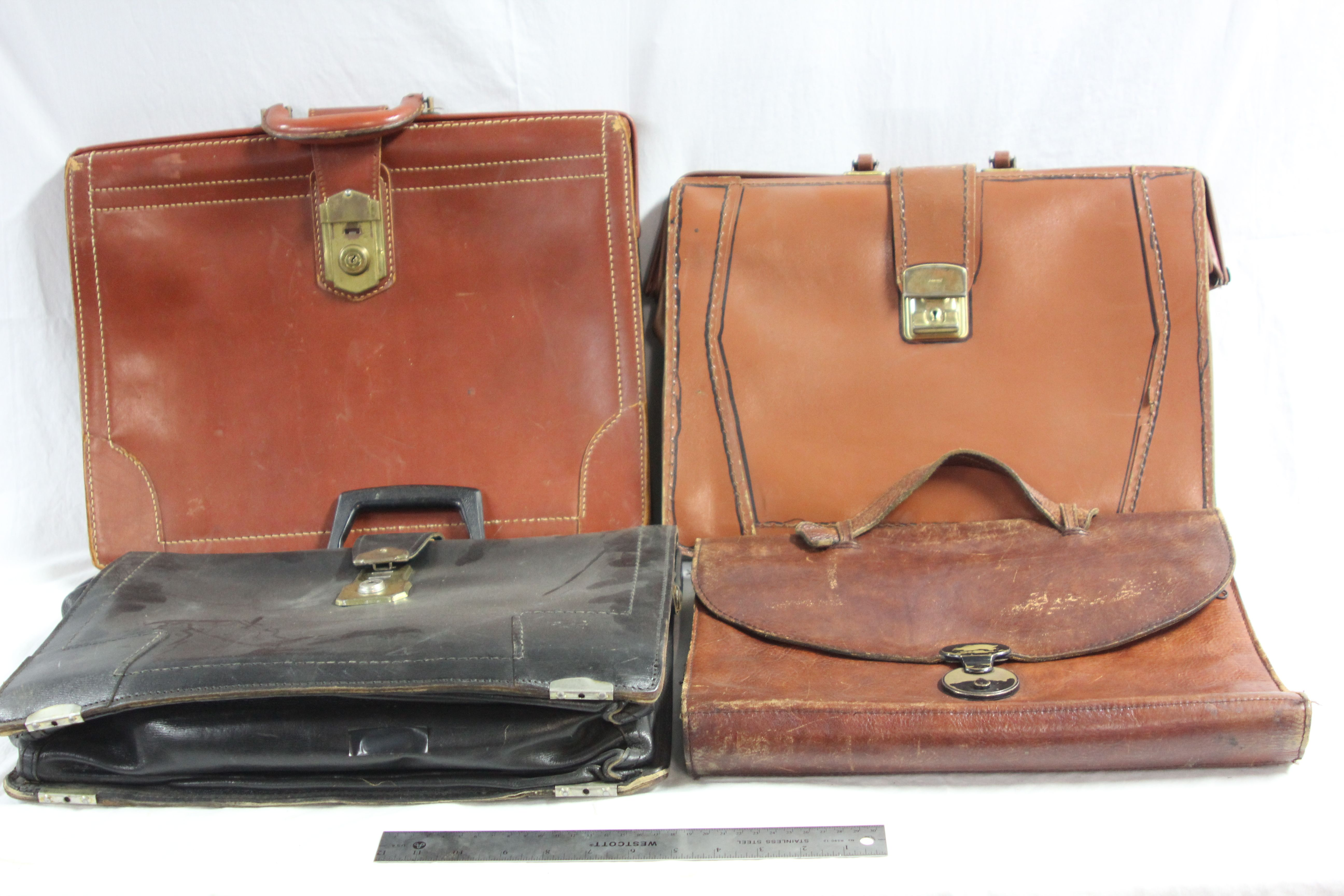 Various Soft Briefcases-