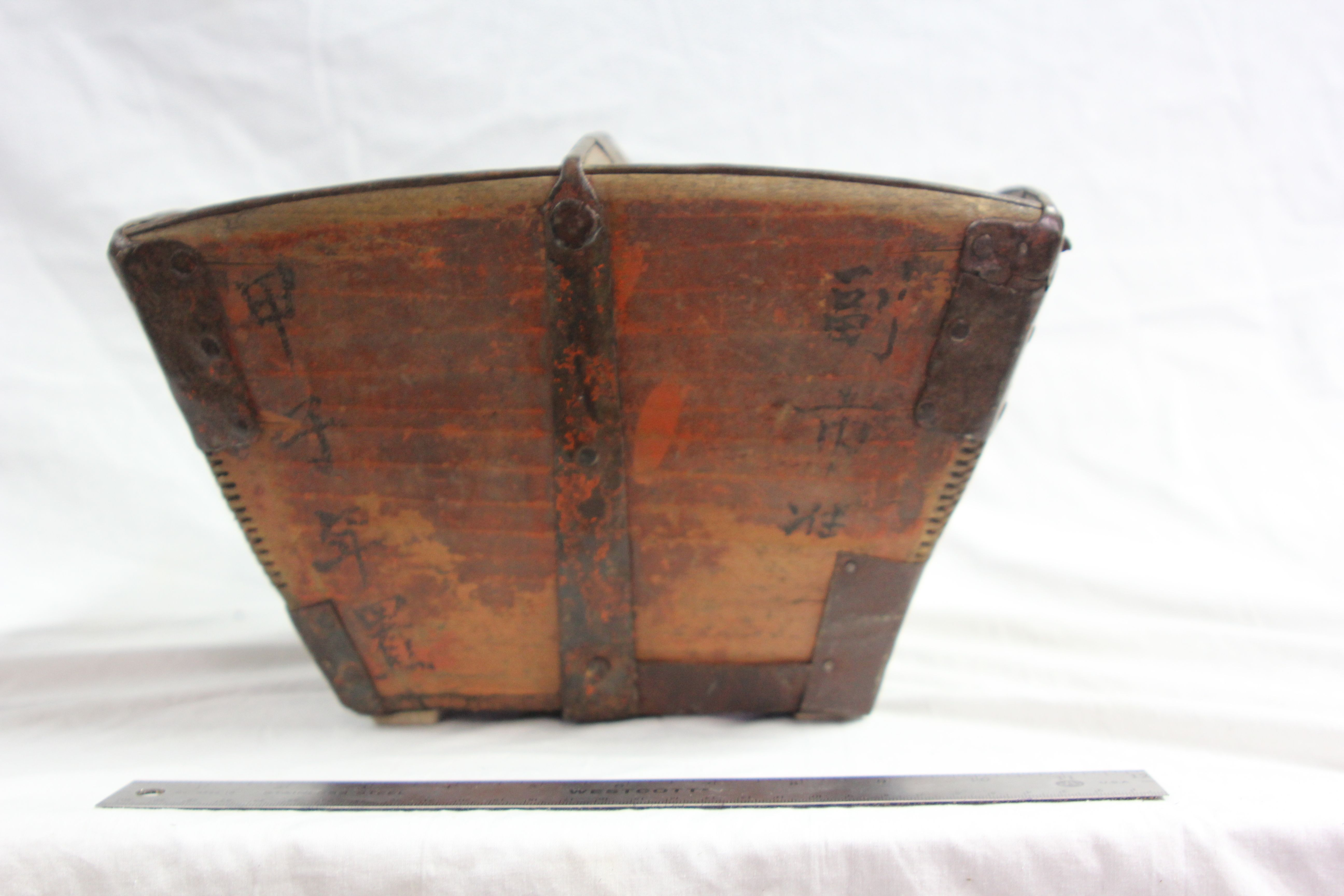 Period Wood Carrying Bowl