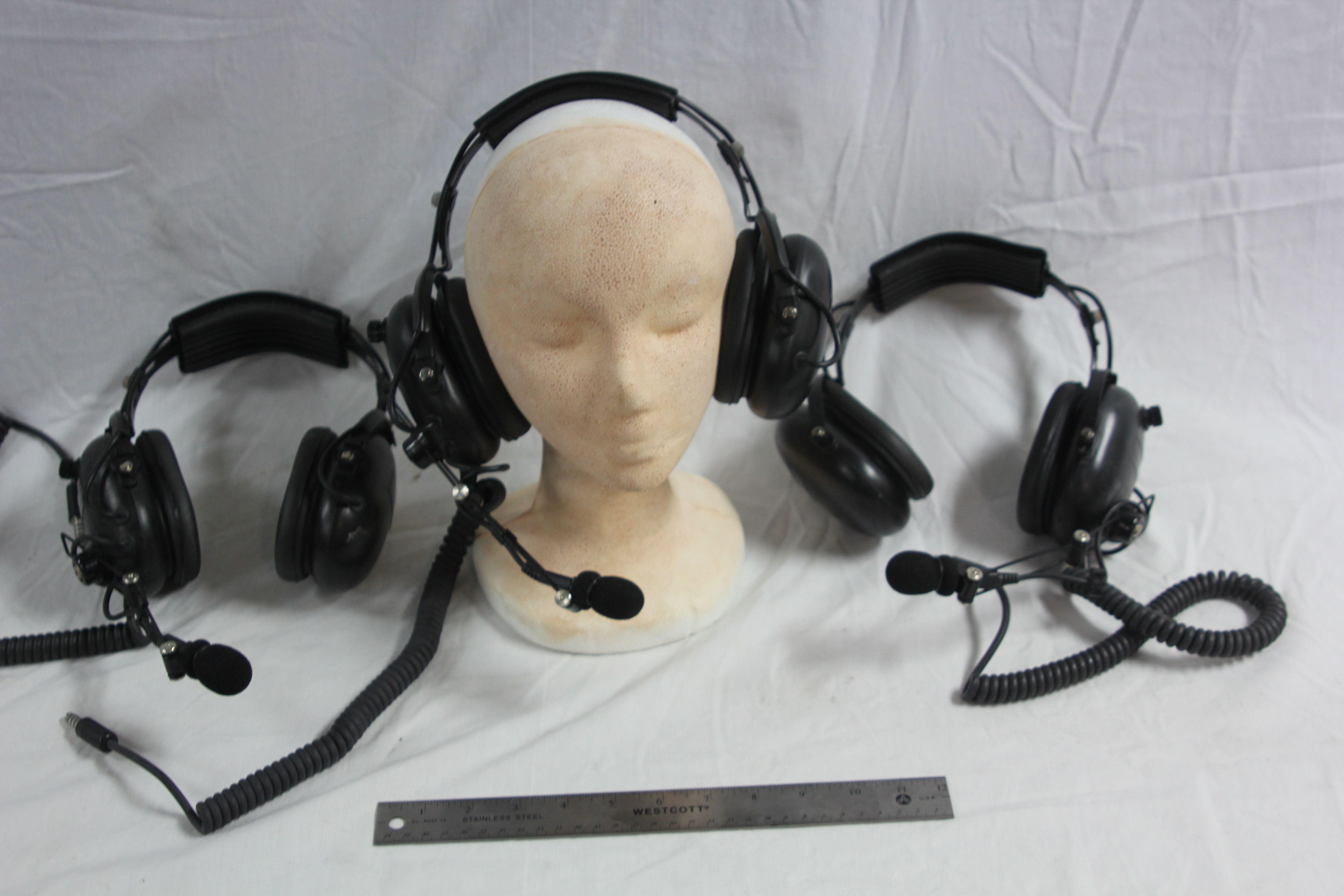 Helicopter Head Sets-Model 4DX