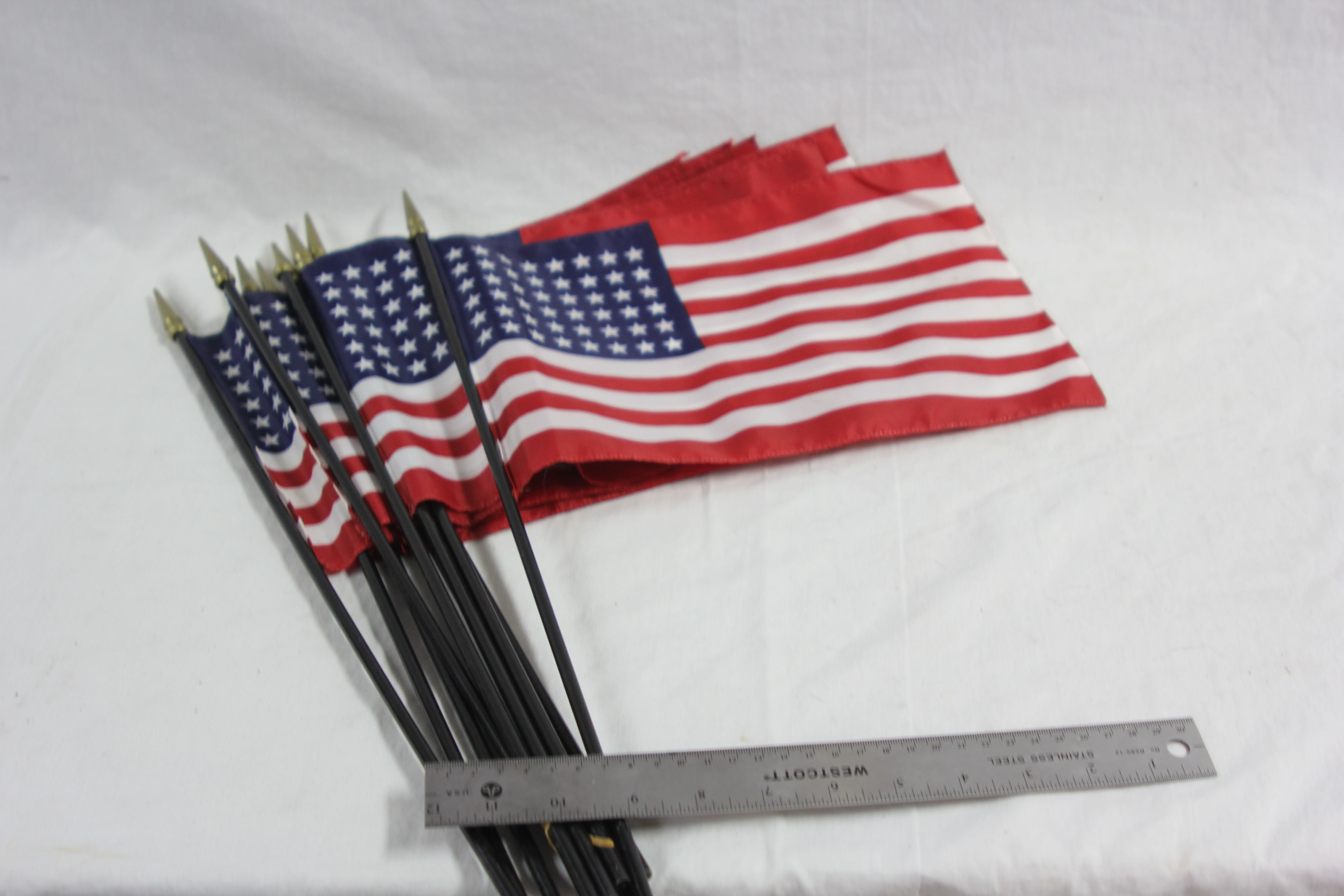 Small American Hand Held Flags