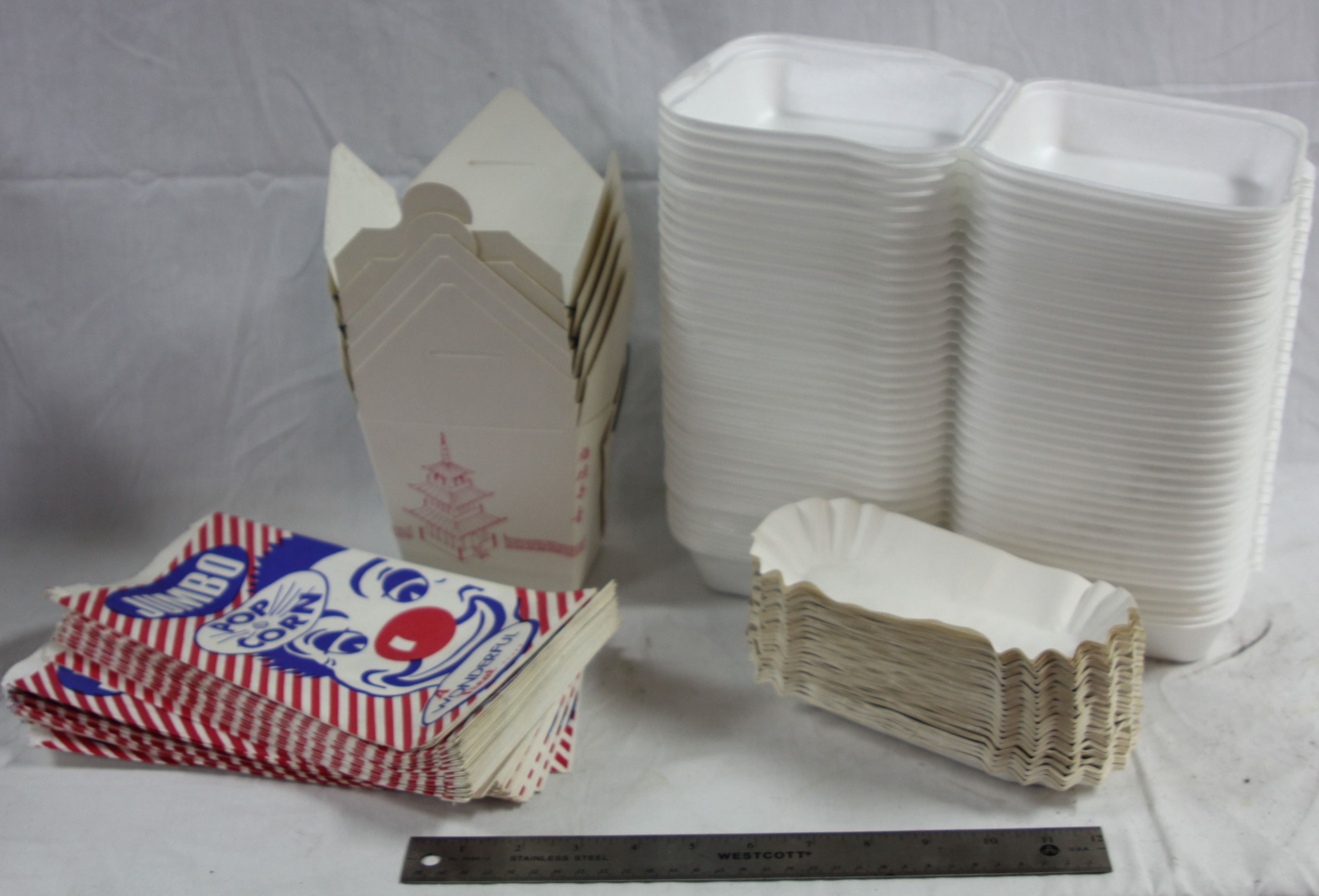 Various Take out Containers