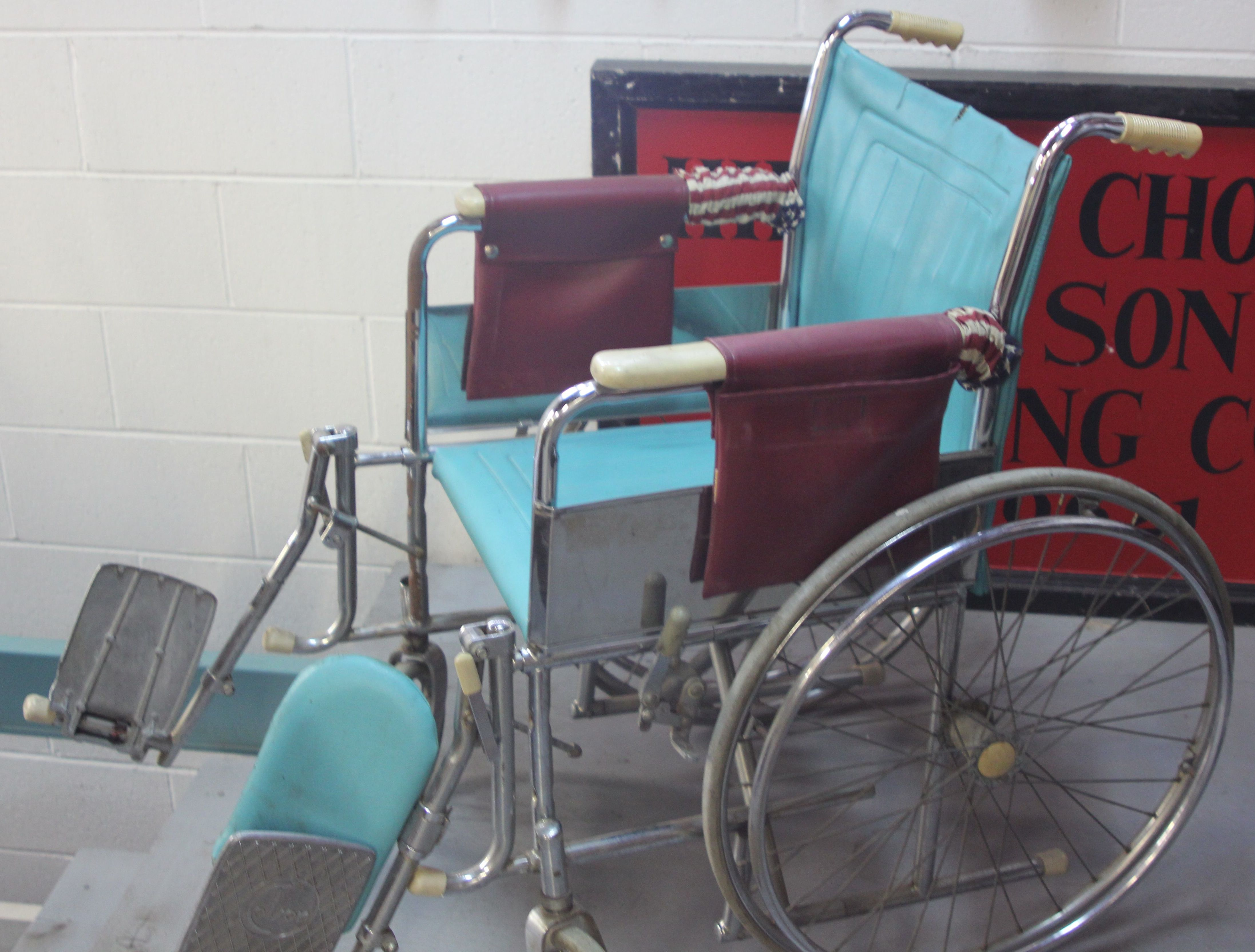 Vintage Wheelchair-USA