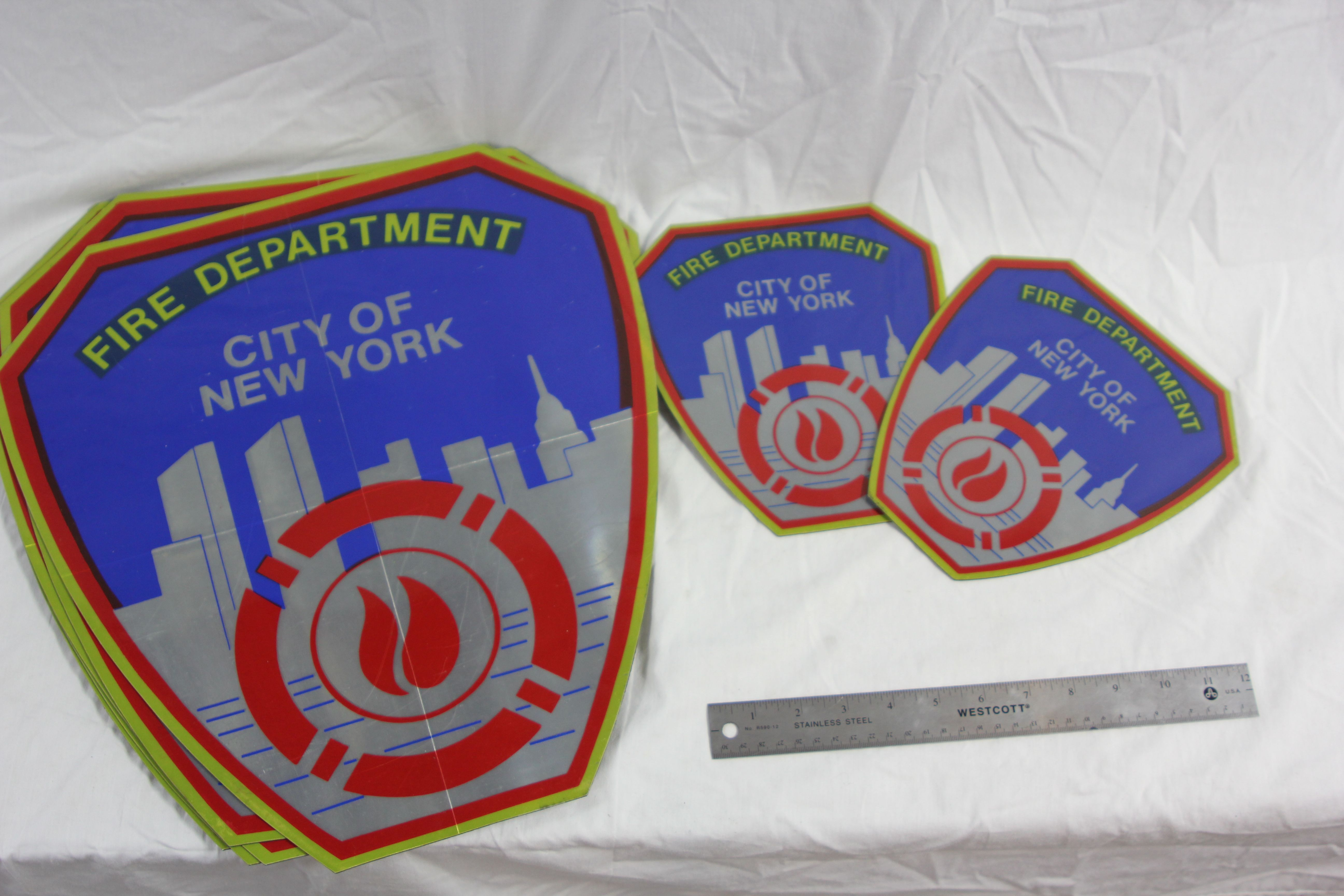 New York Fire Department Magnets