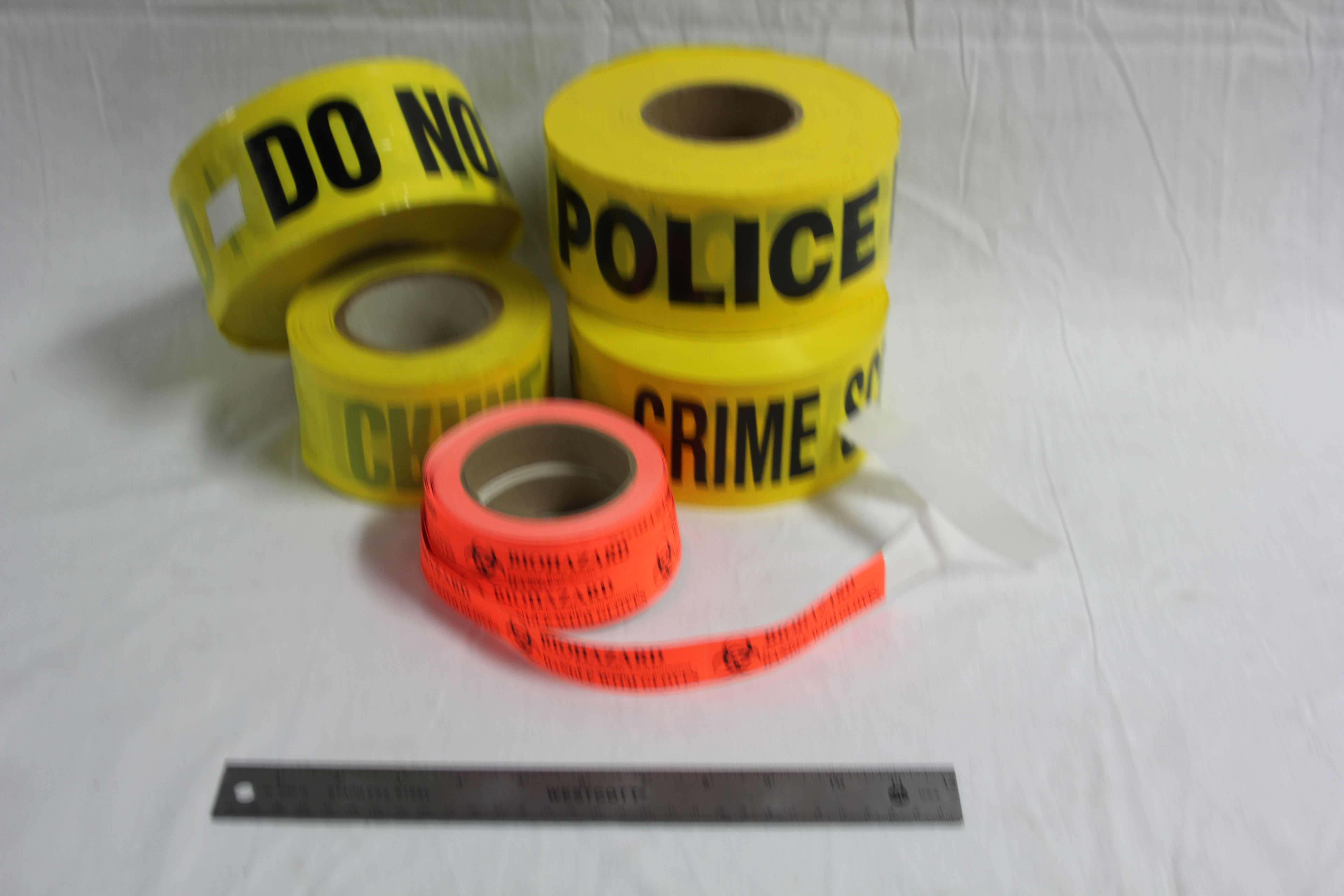 Assorted Crime Scene Tapes