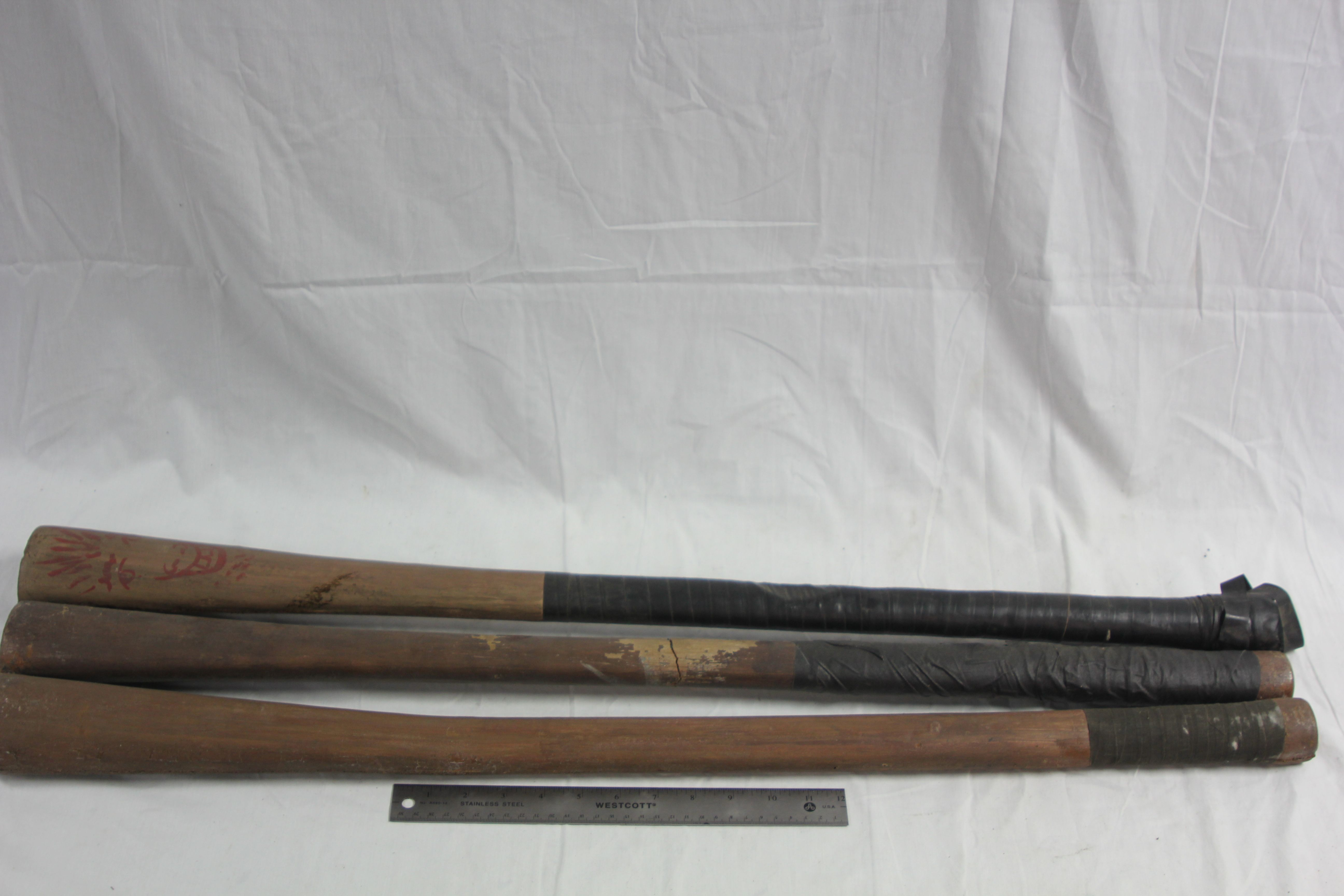 Period Baseball Sticks