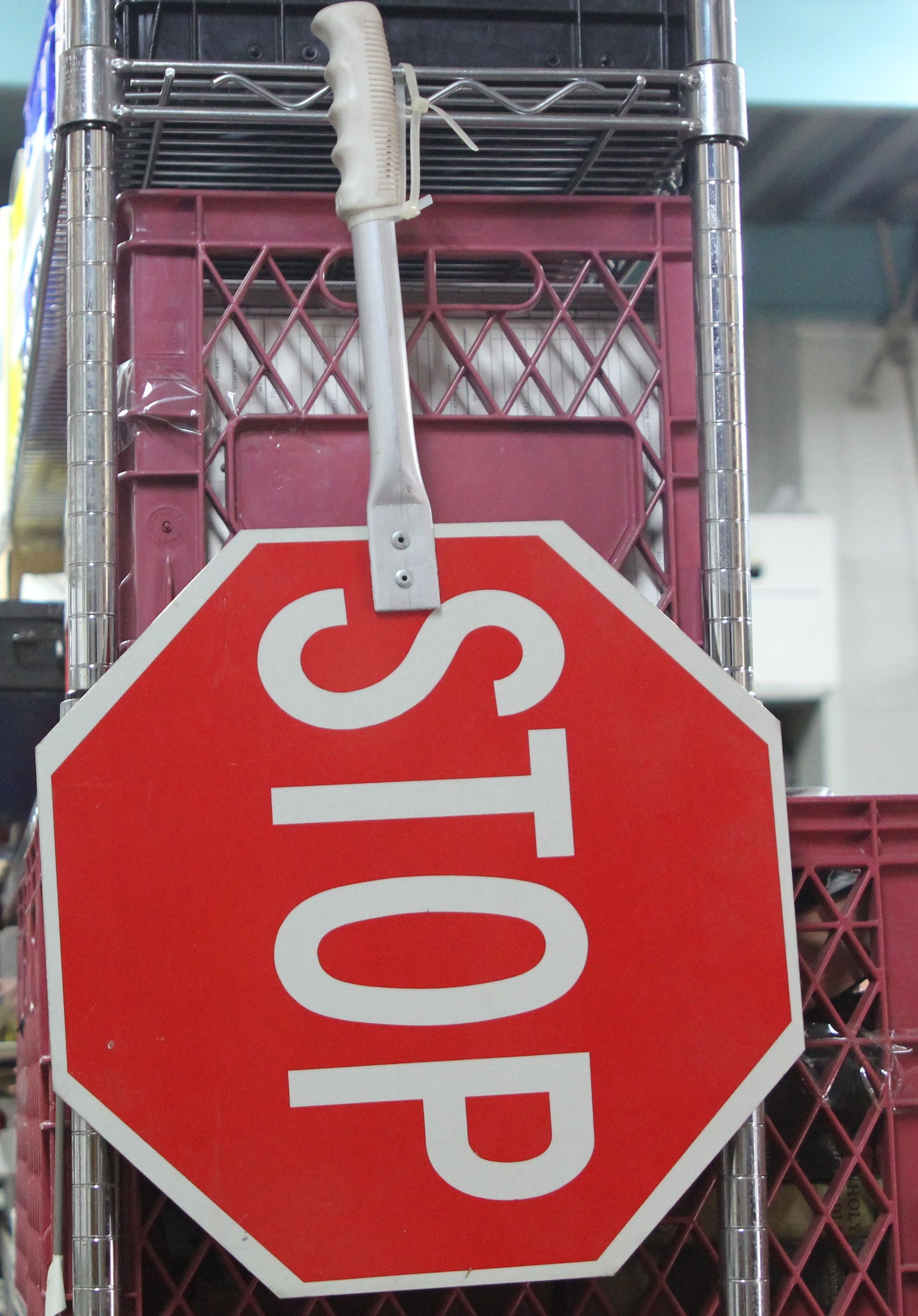 Safety - Stop Sign -