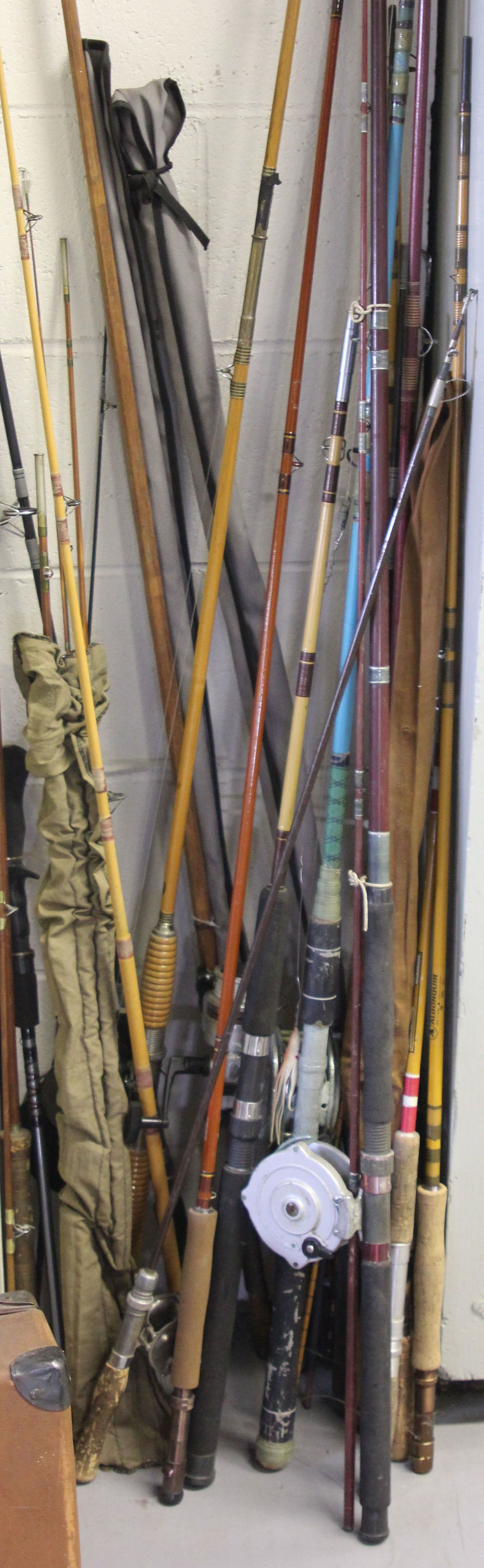 Modern and Period Fishing Rods