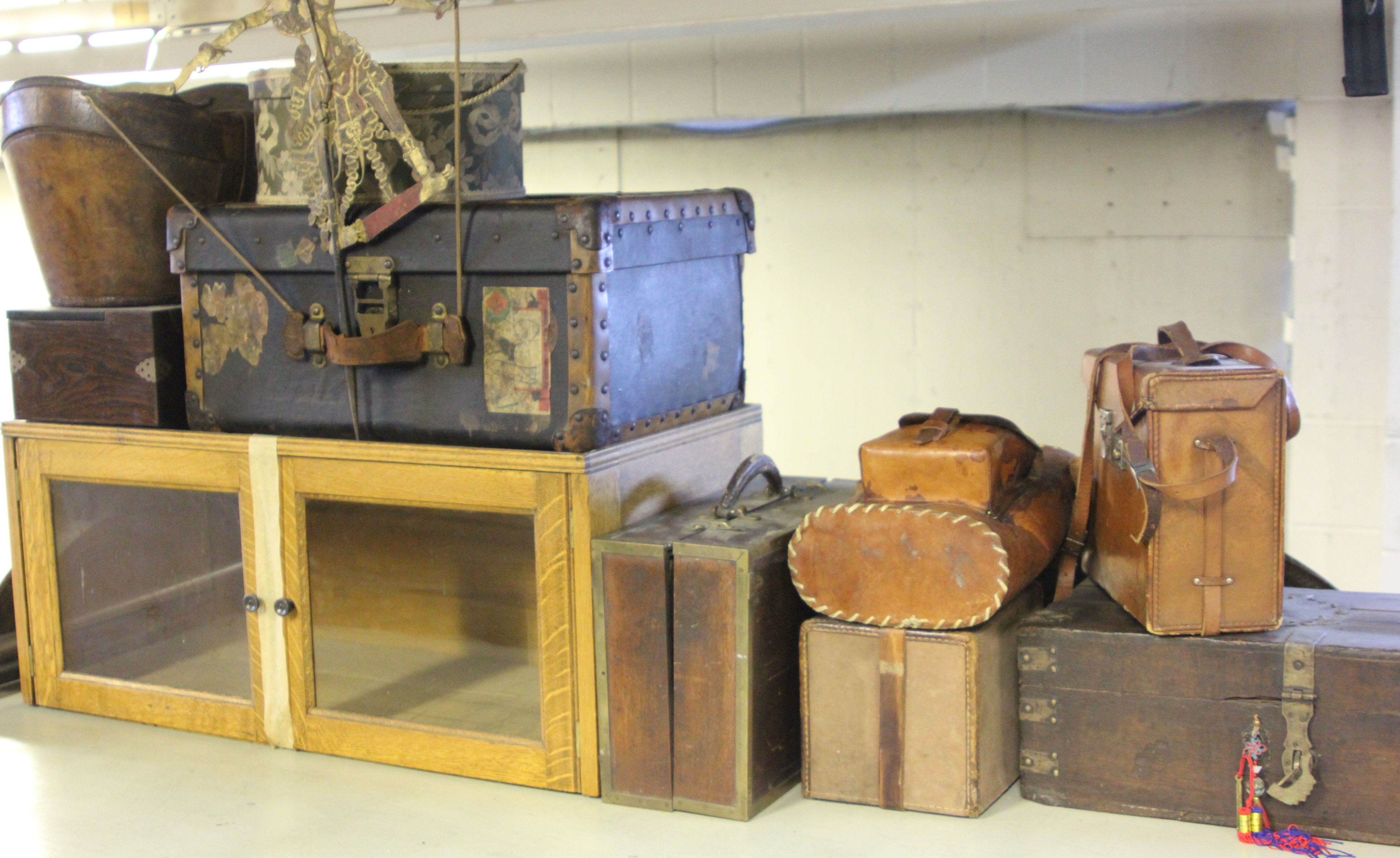 Various Wooden Boxes & Containers