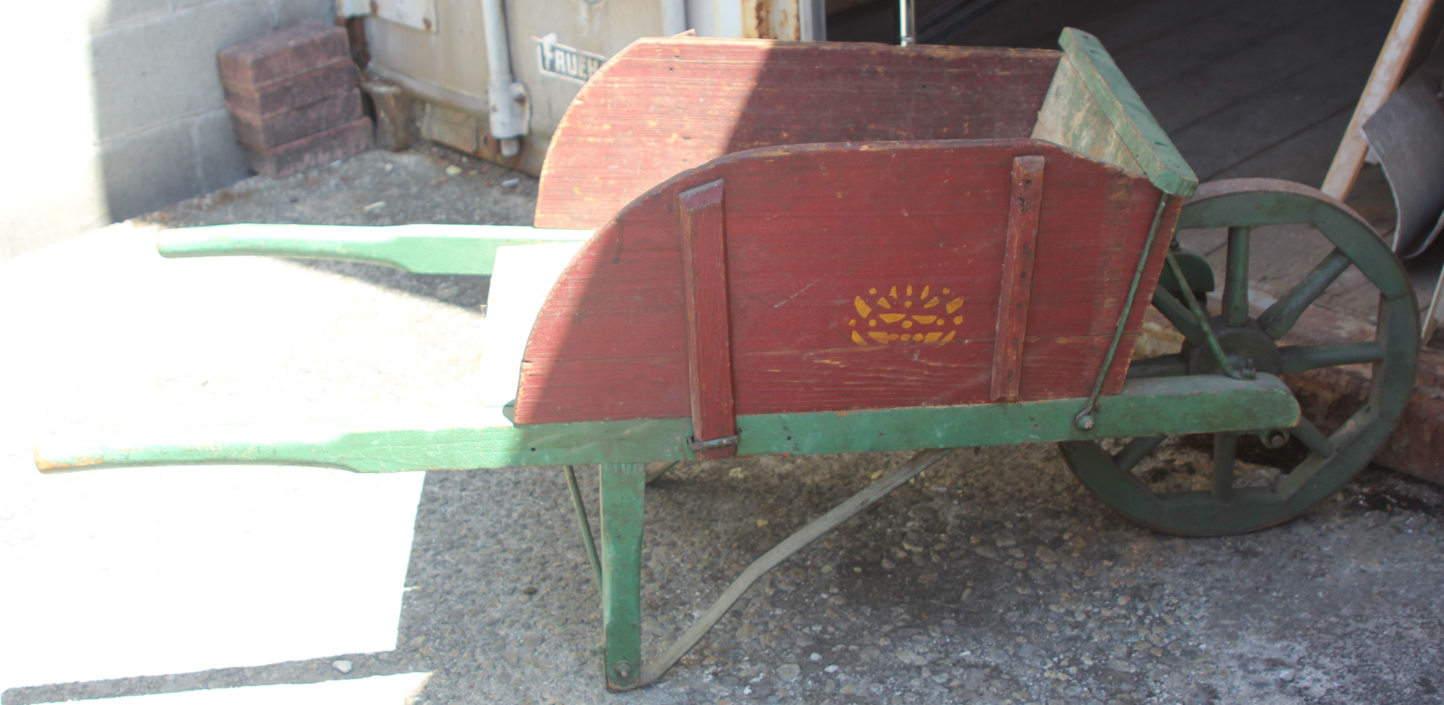 Period Wooden Wheelbarrow