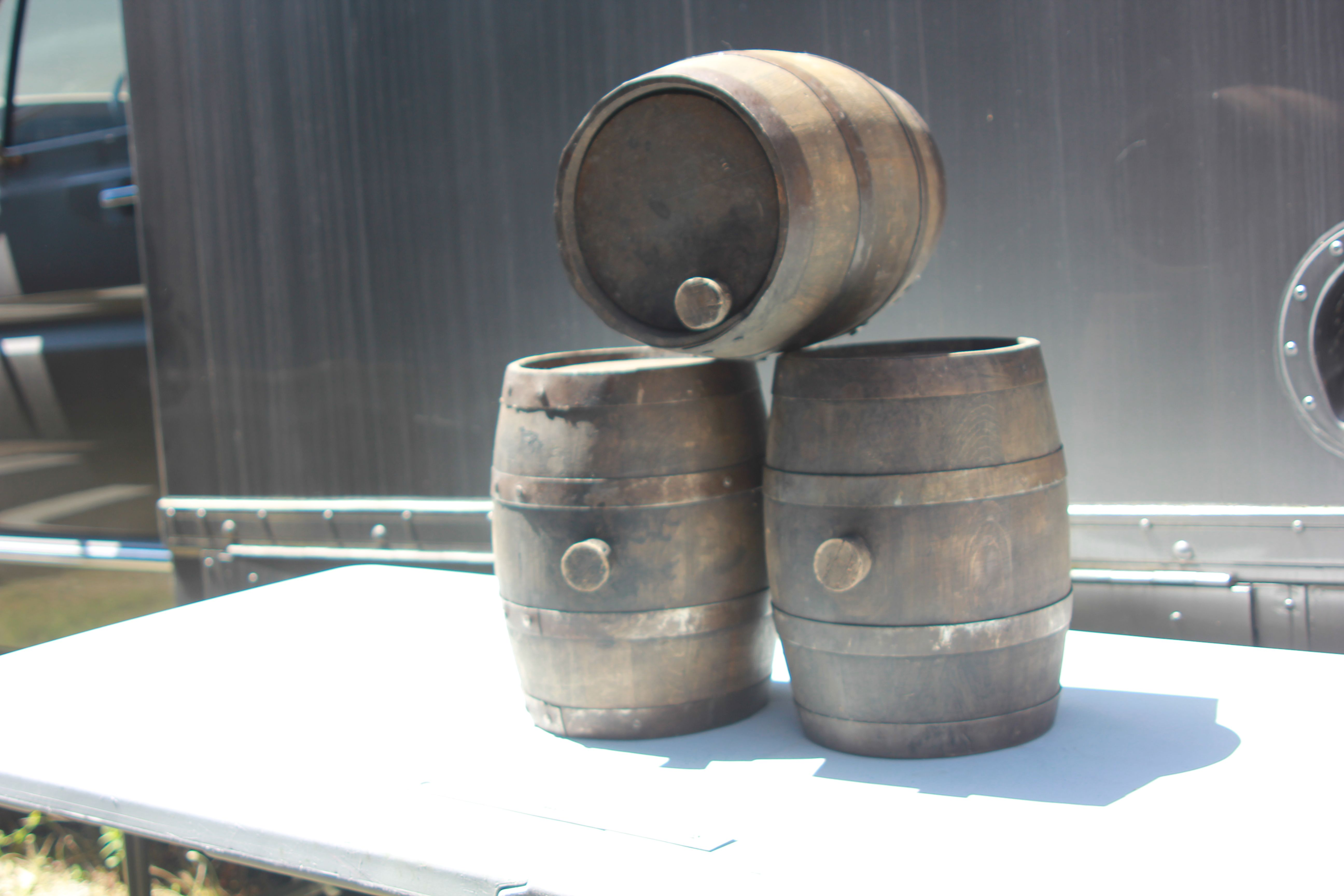 Period Small Wooden Barrels